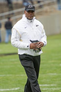 Coach Darrell Hazell